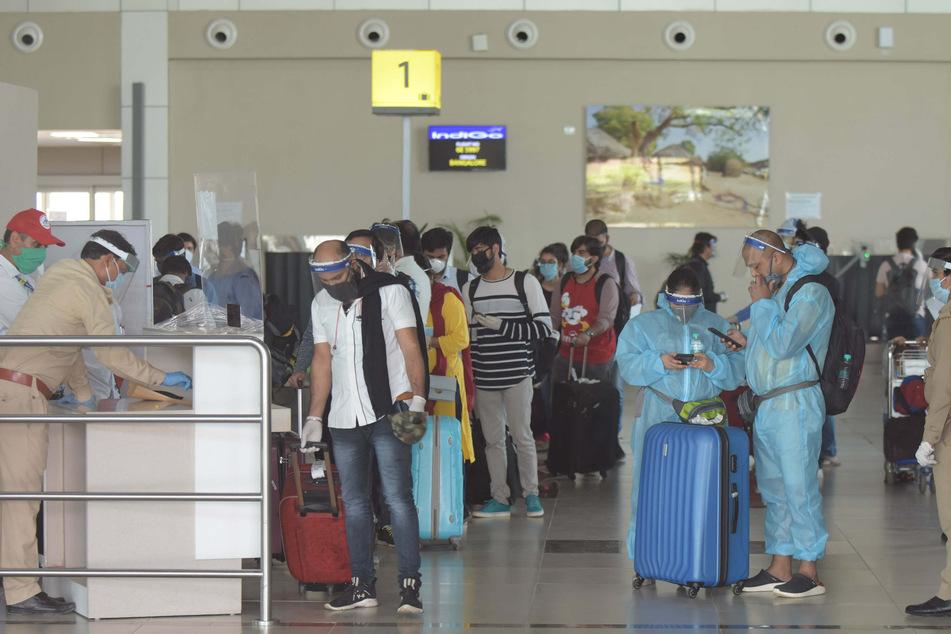 China bietet seinen Bürgern in Indien erstmals während der Corona-Pandemie Rückholflüge in die Heimat an.