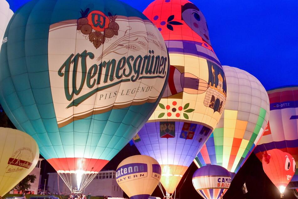 Das Chemnitzer Ballonfest findet vom 2. bis 4.Juli auf der Küchwaldwiese statt.