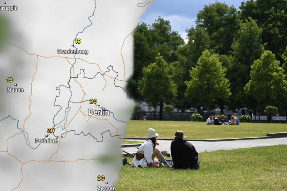 In Berlin und Brandenburg steigen die Temperaturen wieder. (Bildmontage)