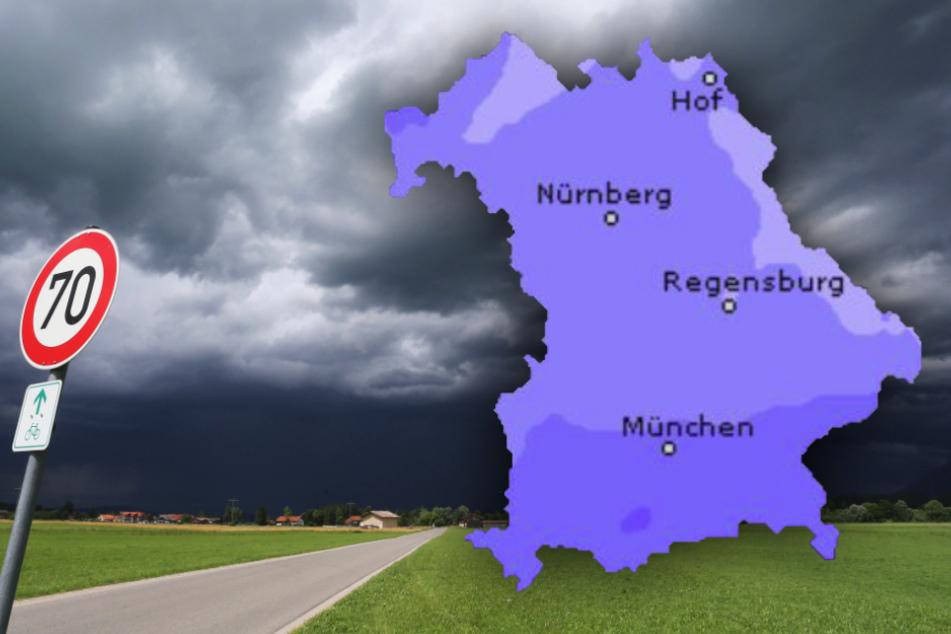 Regen und teils Gewitter! So wird das Wetter im Freistaat Bayern