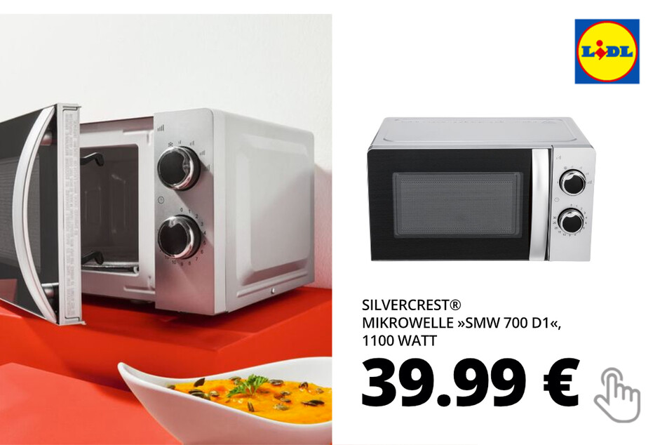 """SILVERCREST® Mikrowelle """"SMW 700 D1"""", 1100 Watt"""