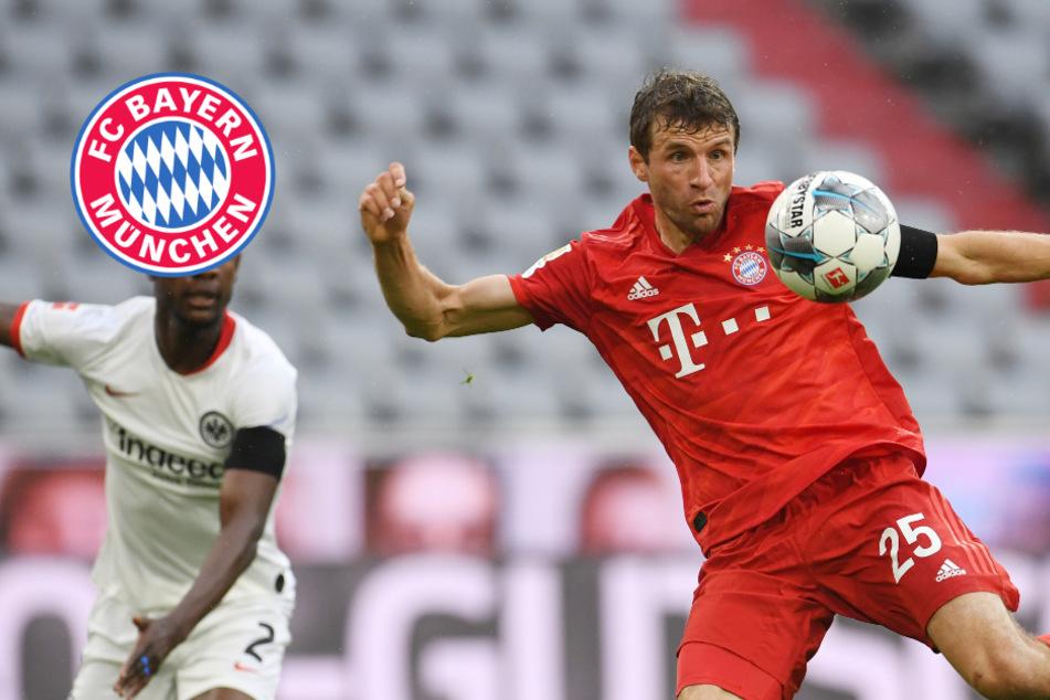 FC Bayern will Rache gegen Frankfurt: Thomas Müller winkt Rekordmarke