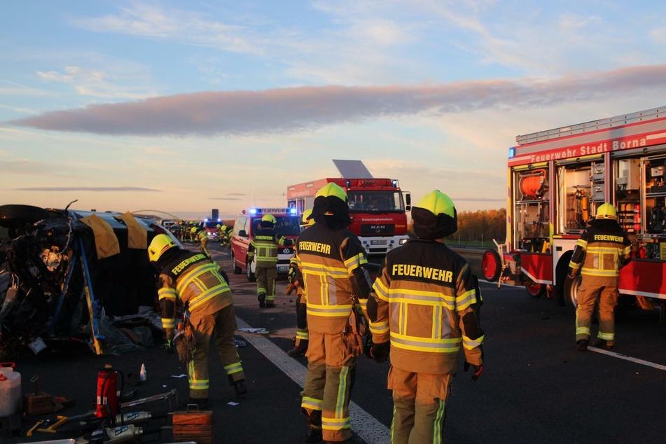 Motor rausgerissen: Nach Horror-Unfall auf A72 ist die Ursache klar!