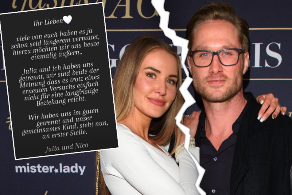 Liebes-Aus! Nico Schwanz und Julia Prokopy trennen sich