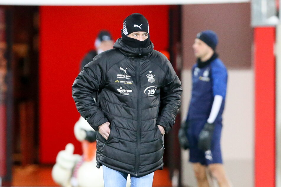 FSV-Coach Joe Enochs (49) wurde mit seiner Mannschaft gegen Ingolstadt eiskalt erwischt.