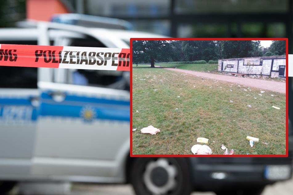 Leipzig: Überfälle, Diebstähle, Nazi-Parolen: Das alles war am Wochenende im Palmengarten los