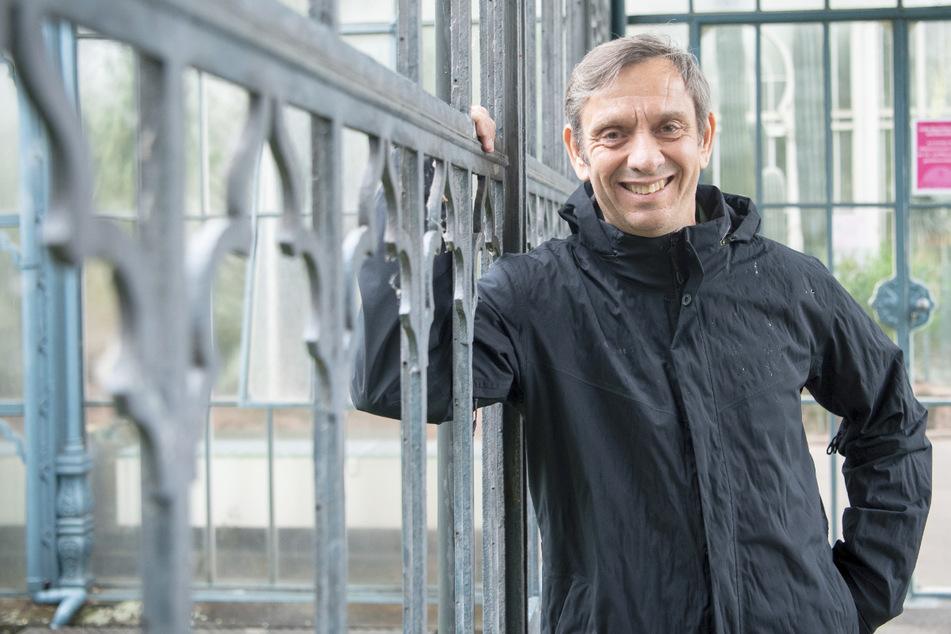 Thomas Kölpin, Direktor der Stuttgarter Wilhelma, aufgenommen in dem Zoo.