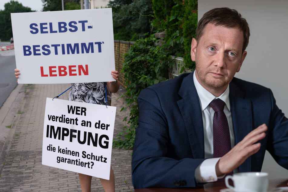 """Michael Kretschmer: """"Ich werde niemanden ausgrenzen, der nicht geimpft ist!"""""""