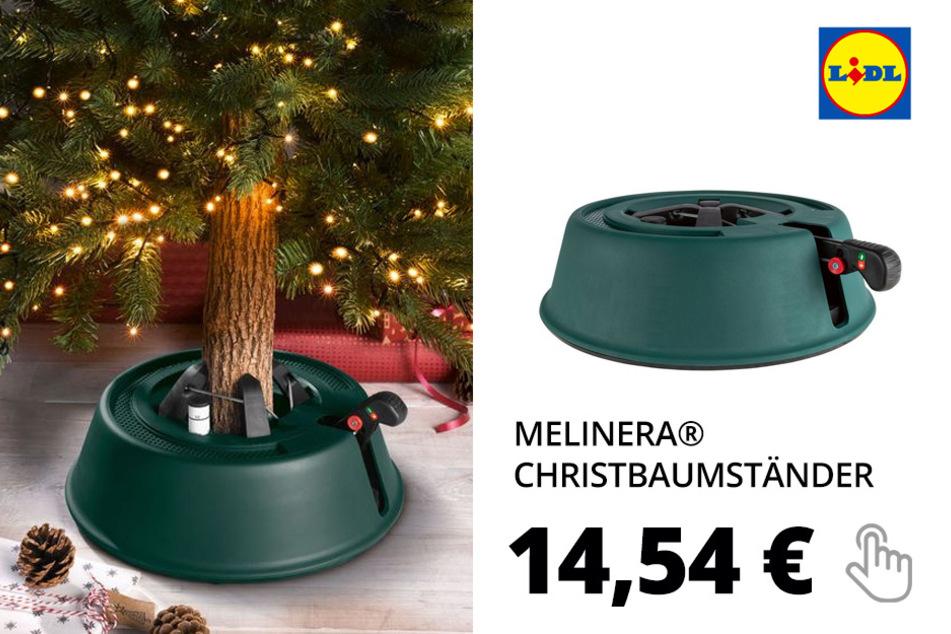 MELINERA® Christbaumständer, mit Einseiltechnik