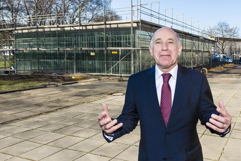 2014 öffnete Investor Reinhard Saal (70) das Bistro am Zwinger, seit 2020 steht es leer, im August übernimmt die Stadt.