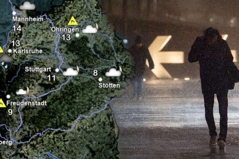 Wetter in Baden-Württemberg: Ihr müsst mit Sturmböen rechnen!