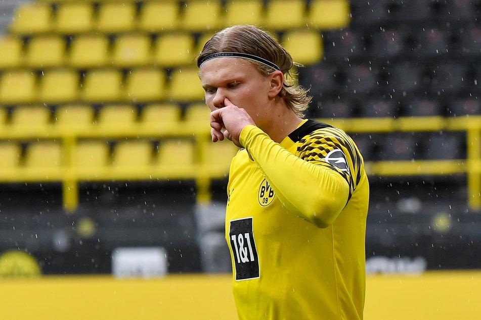 Für Borussia Dortmunds Stürmer Erling Haaland (20) soll der FC Chelsea bereit sein, 175 Millionen Euro zu blechen.