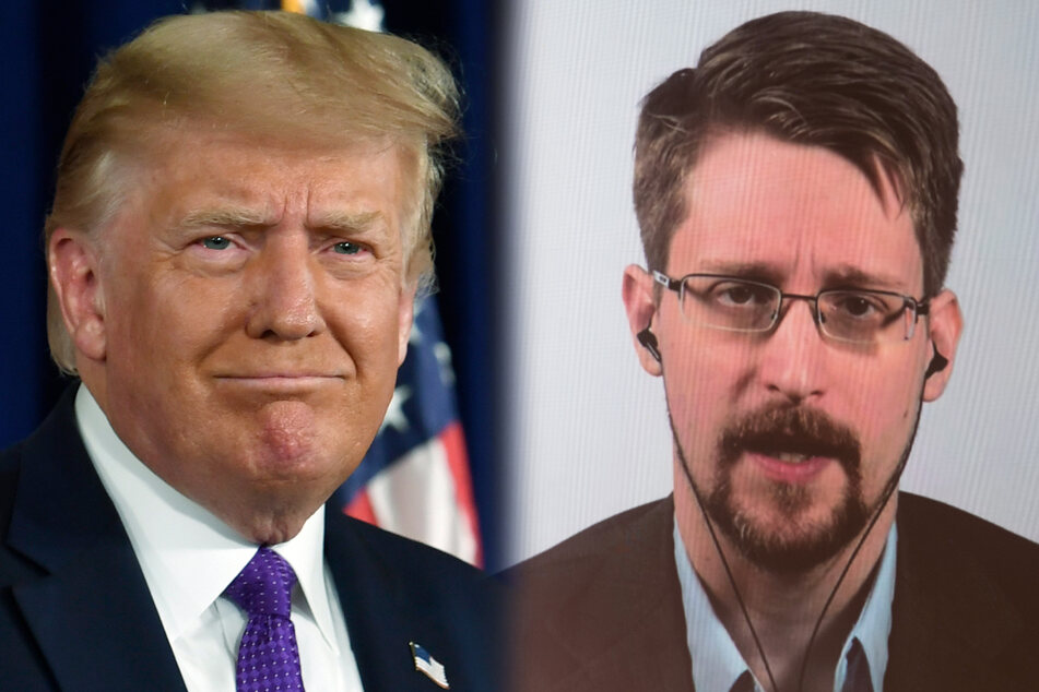 Donald Trump will Begnadigung von Edward Snowden prüfen