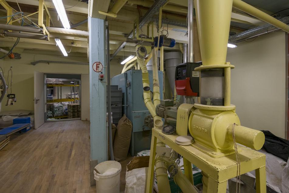 Die letzte Mühle im Erzgebirge: Hier entsteht das Stollenmehl!
