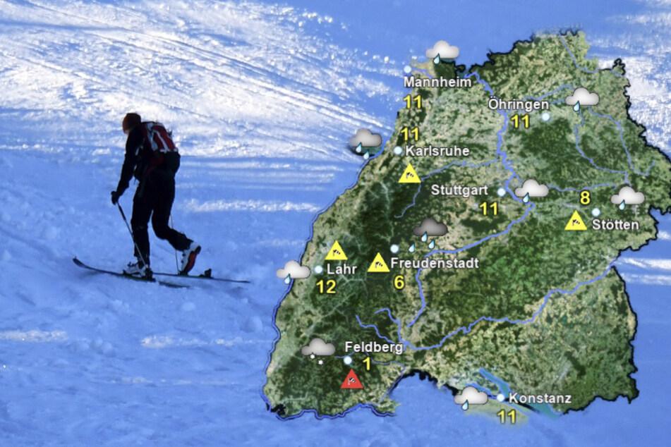 Schnee an Weihnachten in Baden-Württemberg möglich!