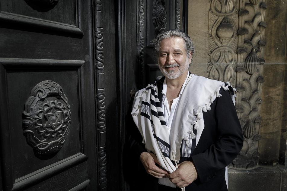 Alex Jacobowitz (61) ist Vorsitzender der Jüdischen Gemeinde Görlitz.