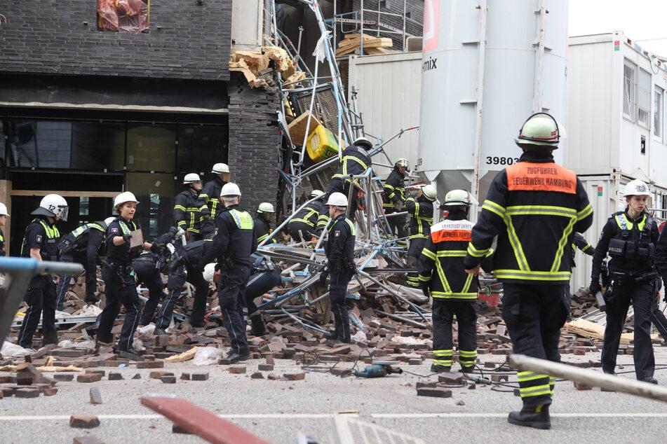 Gerüst-Drama am Millerntor: Zwei Tote, mehrere Verletzte