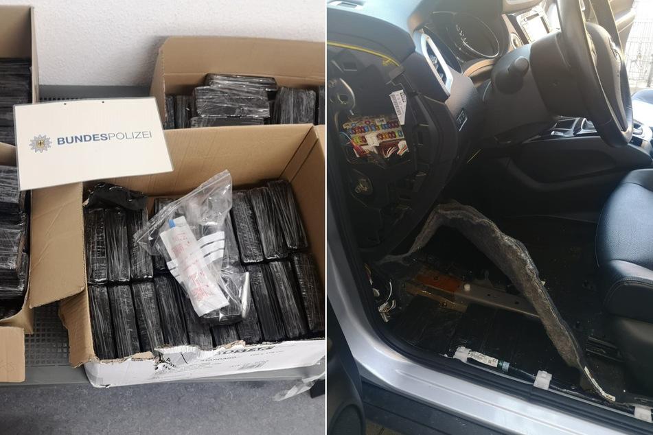 Auto voller Heroin! Polizei entdeckt Drogen für 1,7 Millionen Euro