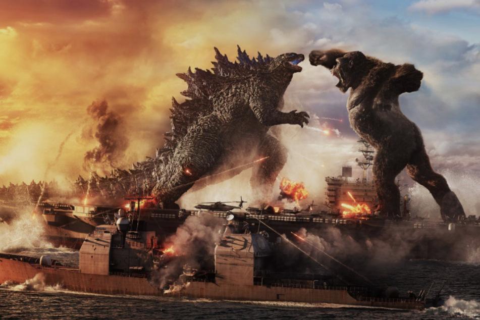 """Kampf der Giganten: So brachial wird """"Godzilla vs. Kong"""""""