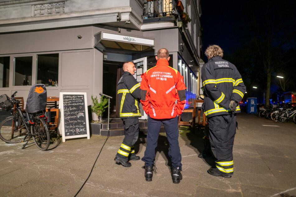 Mitten in der Corona-Krise: Brand in Hamburger Szene-Restaurant