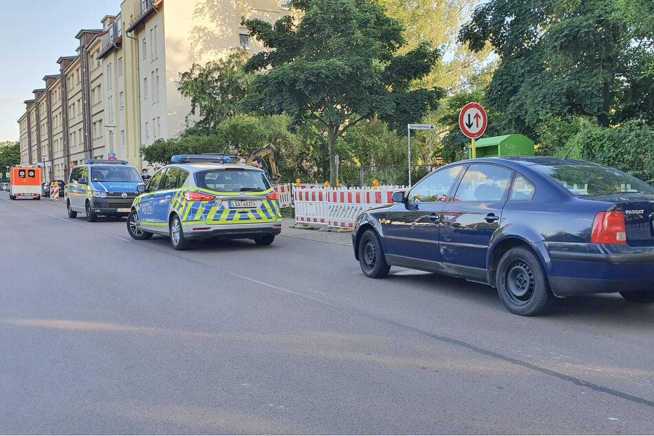 In der Liebenauer Straße stoppte der Fahrer und versuchte zu Fuß zu flüchten.