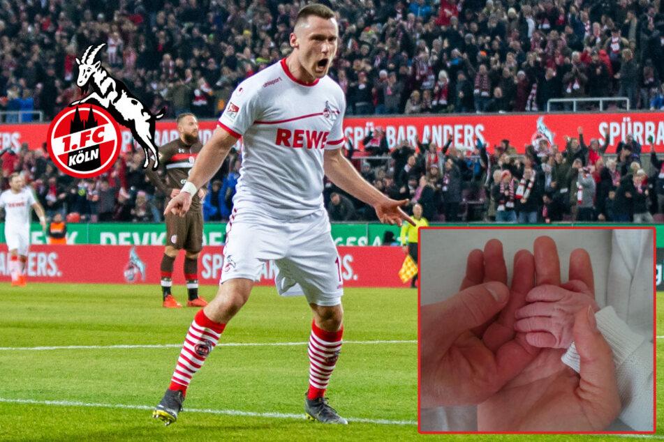 Köln-Kicker Christian Clemens ist Vater geworden