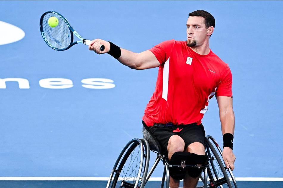 Joachim Gerard (32) ist aktiver Rolllstuhltennissportler und nahm in Tokio an den Paralympics teil.