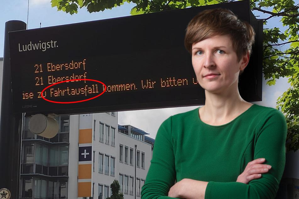 Verspätungen und Ausfälle! Chemnitzer Grüne schimpfen auf CVAG