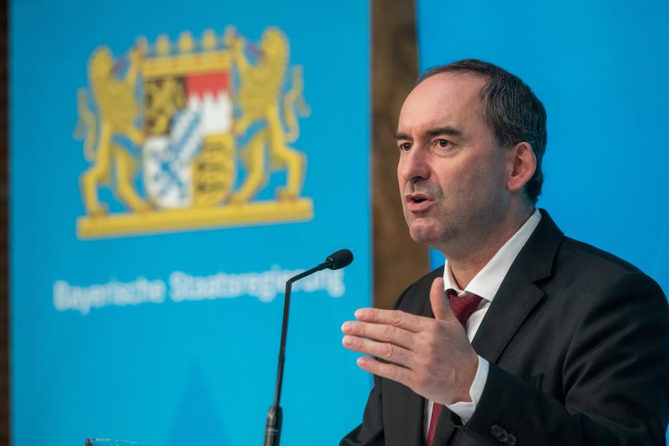 Hubert Aiwanger (Freie Wähler), stellvertretender Ministerpräsident und Staatsminister für Wirtschaft, Landentwicklung und Energie.