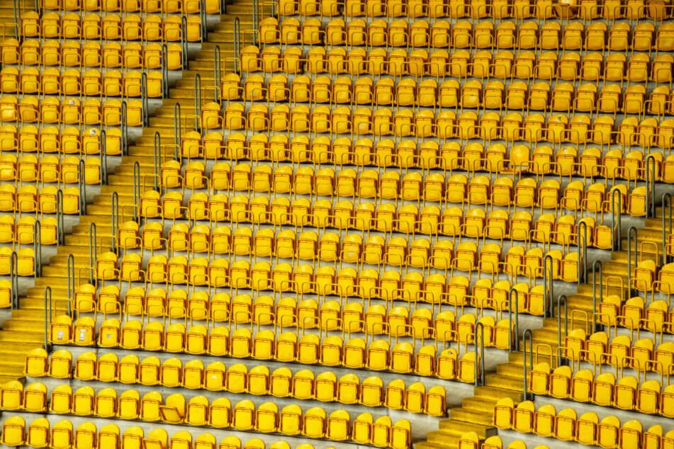 Drohen leere Ränge im Rudolf-Harbig-Stadion?