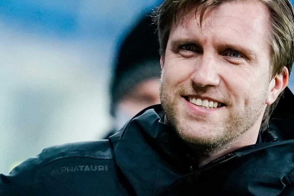 Markus Krösche (40) hat als Sportvorstand von Eintracht Frankfurt einen Vertrag bis 2025 unterschrieben.