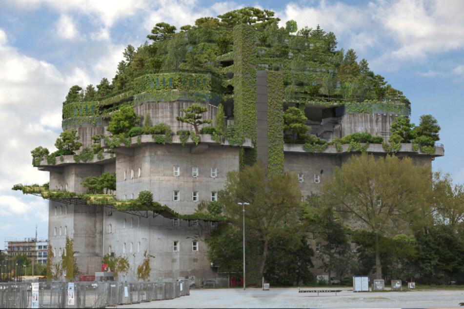 Für 40 Millionen Euro: So gehen die Arbeiten am St. Pauli-Bunker voran