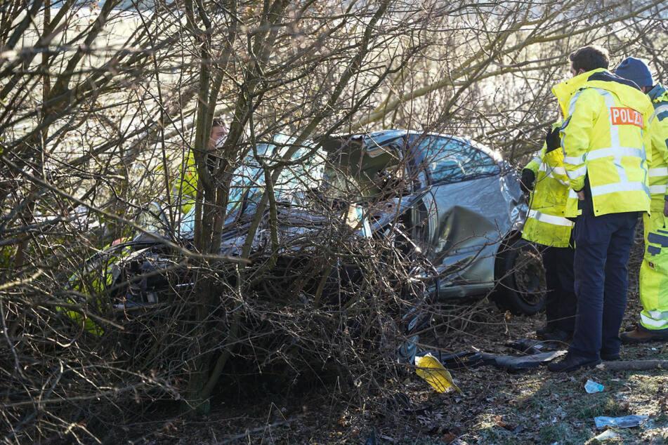Junger Mann und Frau sterben bei Horrorcrash auf A67 bei Darmstadt
