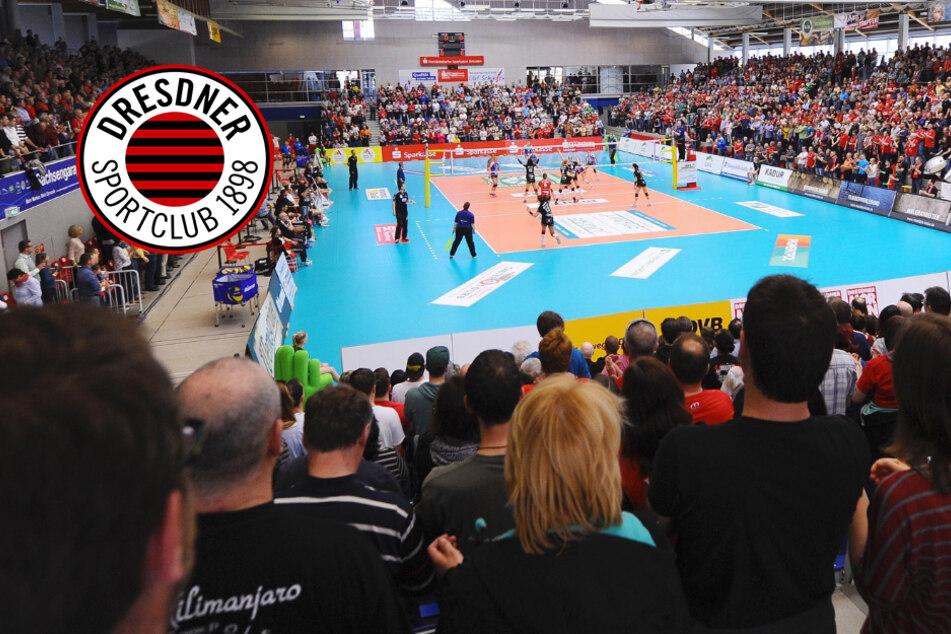 Kein Geisterspiel für den Dresdner SC: Volleyball-Bundesliga beendet Saison