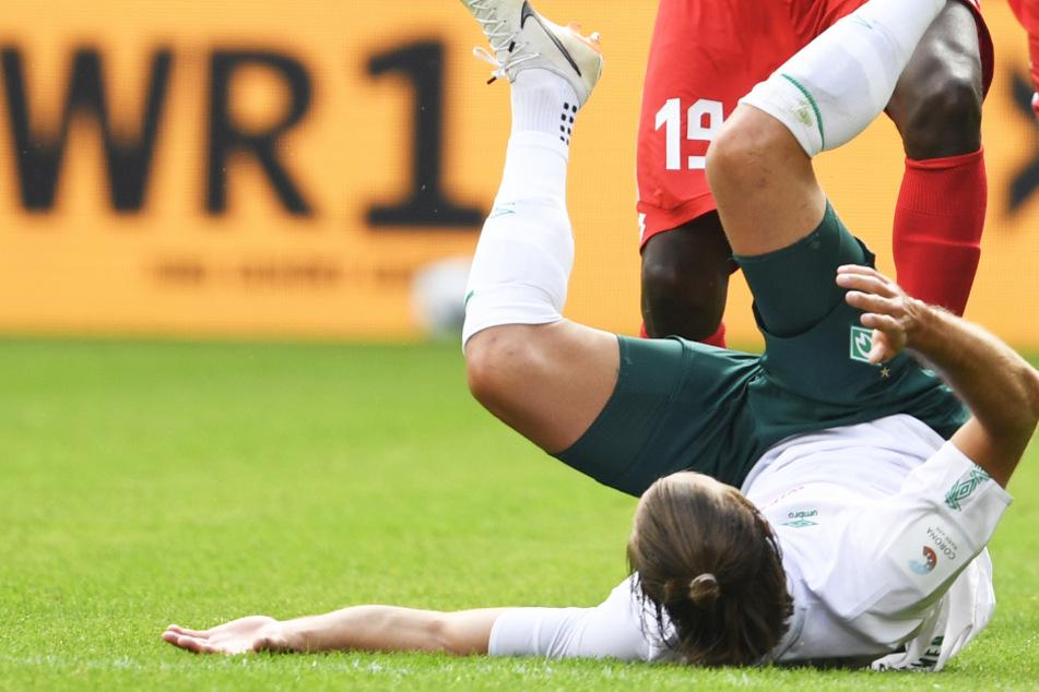 Der SV Werder Bremen um Niclas Füllkrug verlor beim 1. FSV Mainz 05 mit 1:3 und steht vor dem letzten Spieltag mit dem Rücken zur Wand.