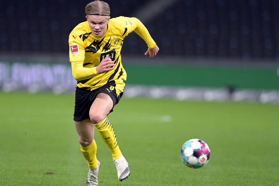 Erling Haaland (20) feierte gegen den VfL Wolfsburg nach seiner Verletzungspause ein ordentliches Comeback. Bei 100 Prozent war er jedoch noch nicht.