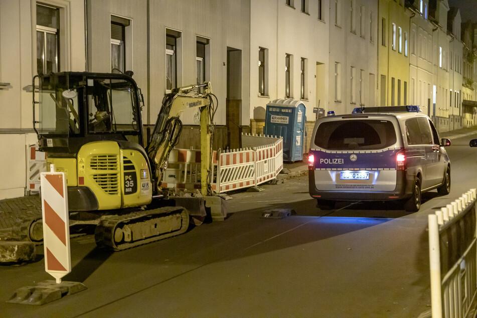 Die Bombe wurde bei Erdarbeiten in der Bismarckstraße entdeckt.