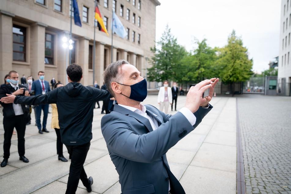 Bundesaußenminister Heiko Maas (53, SPD) hat am Freitag den Gamescom Congress eröffnet.