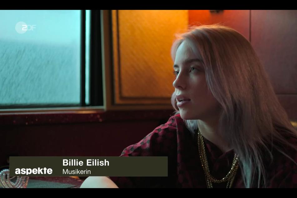 """""""Ich habe dieselben Probleme wie alle, die etwas 'durchmachen', das verarbeite ich in der Musik - für die Betroffenen"""", sagt Billie Eilish (19)."""