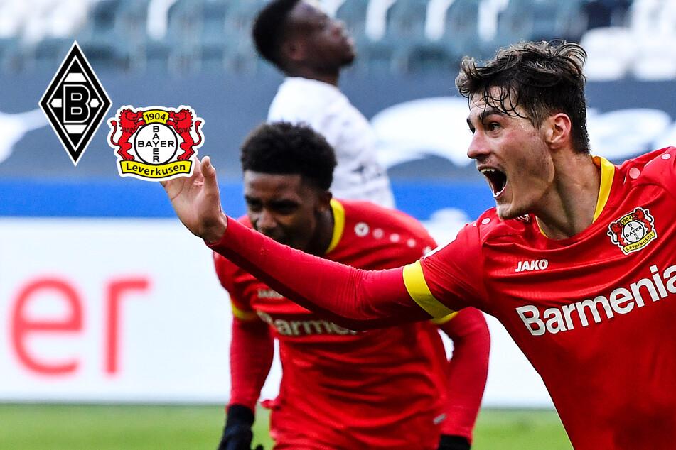 Fohlen-Krise spitzt sich zu: Patrik Schick erlöst Bayer Leverkusen gegen Mönchengladbach!