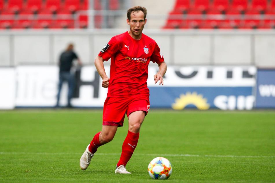 Kam vom FSV Zwickau: René Lange verstärkt den FC Carl Zeiss Jena.