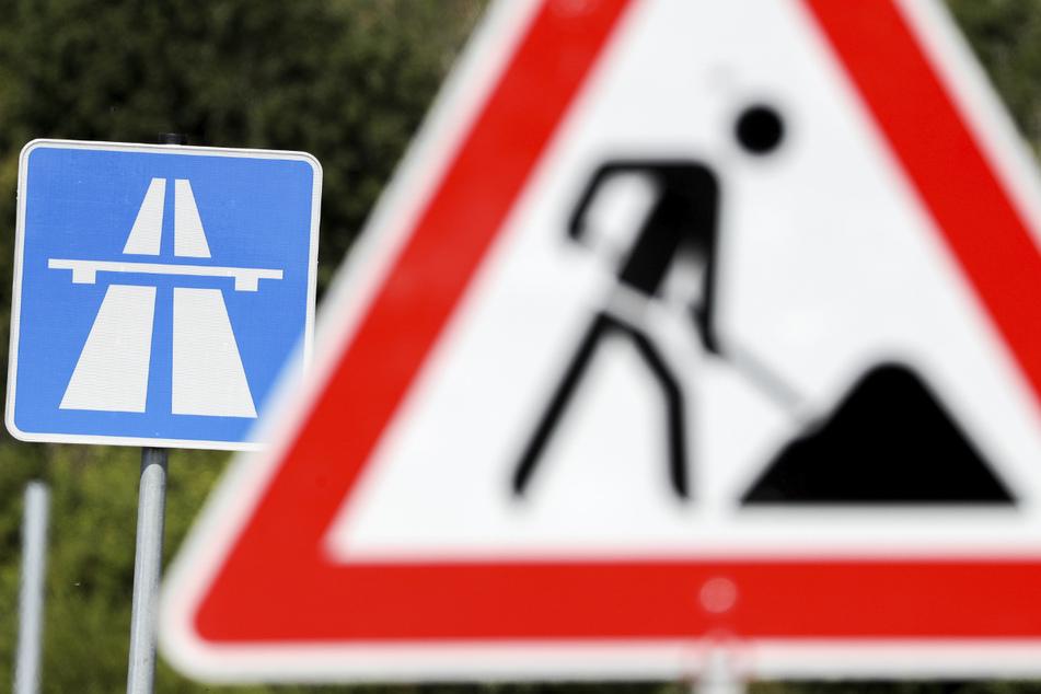 Wer auf der A7 ab Montag in Richtung Dänemark fährt, gelangt in eine Baustelle. (Symbolbild)
