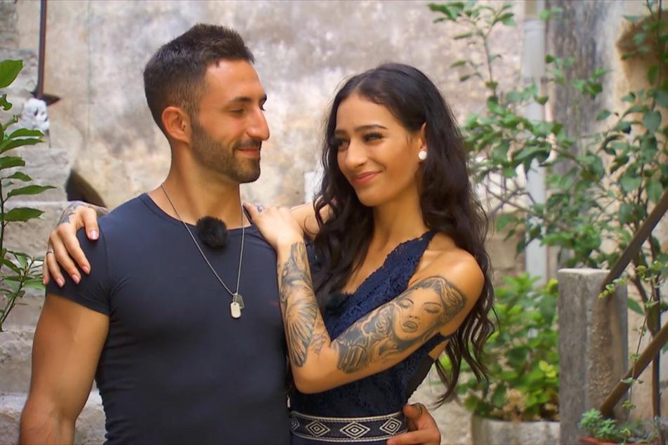 """Fabio (26) und Shirin (21) finden sich seit Tag eins von """"Temptation Island"""" anziehend. In der fünften Folge kommen sich beide noch näher!"""