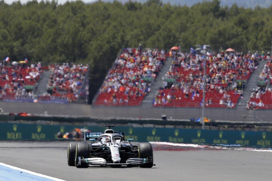 Formel-1-Weltmeister Lewis Hamilton beim Grand Prix von Le Castellet im Juni 2019.