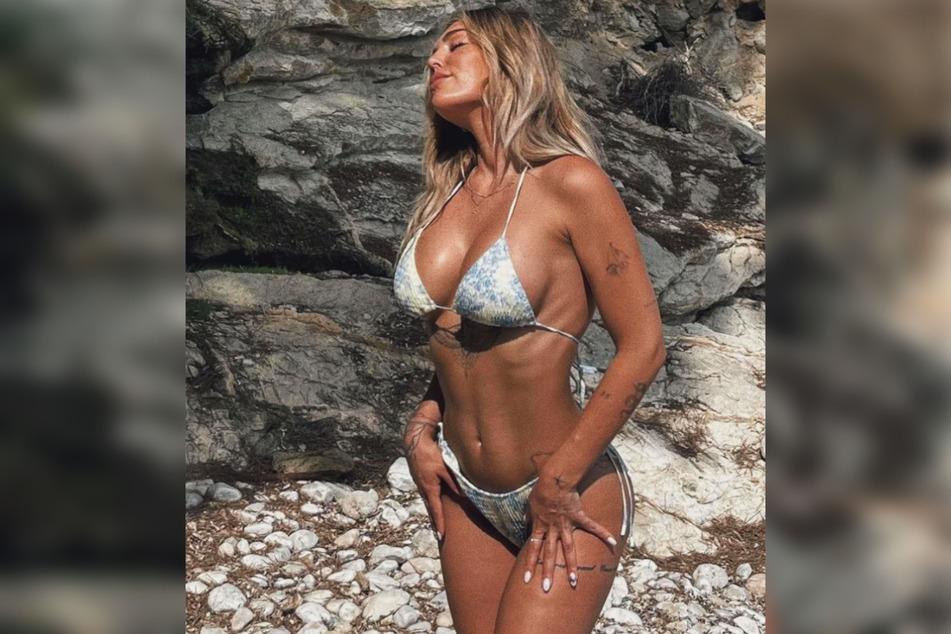 Die 31-Jährige weilt gerade mit ihren Liebsten auf Mallorca und will sich den Urlaub auf keinen Fall vermiesen lassen.