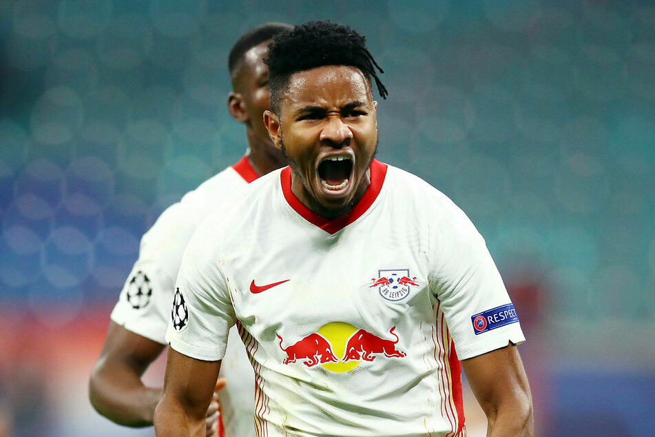 Christopher Nkunku (23) schaffte es mit RB Leipzig in der Vorsaison bis ins Halbfinale der Königsklasse - der größte Erfolg der Vereinsgeschichte. Auch in diesem Jahr wollen sie eine große Rolle spielen.