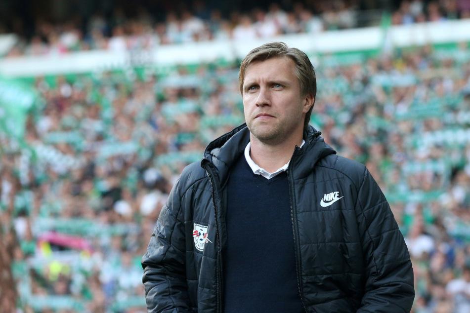 RB-Sportdirektor Markus Krösche (40) schließt weitere Winter-Transfers offenbar aus. (Archivbild)