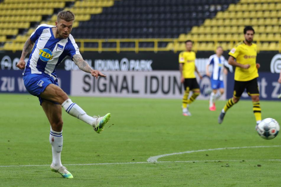 Alexander Esswein kam in Dortmund zu seinem Einsatz unter Labbadia.