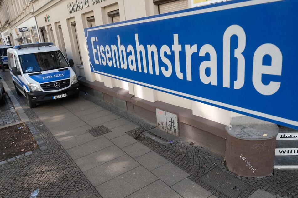 Auf Leipzigs Eisenbahnstraße ist es am Dienstagabend erneut zu einer Auseinandersetzung gekommen. (Archivbild)