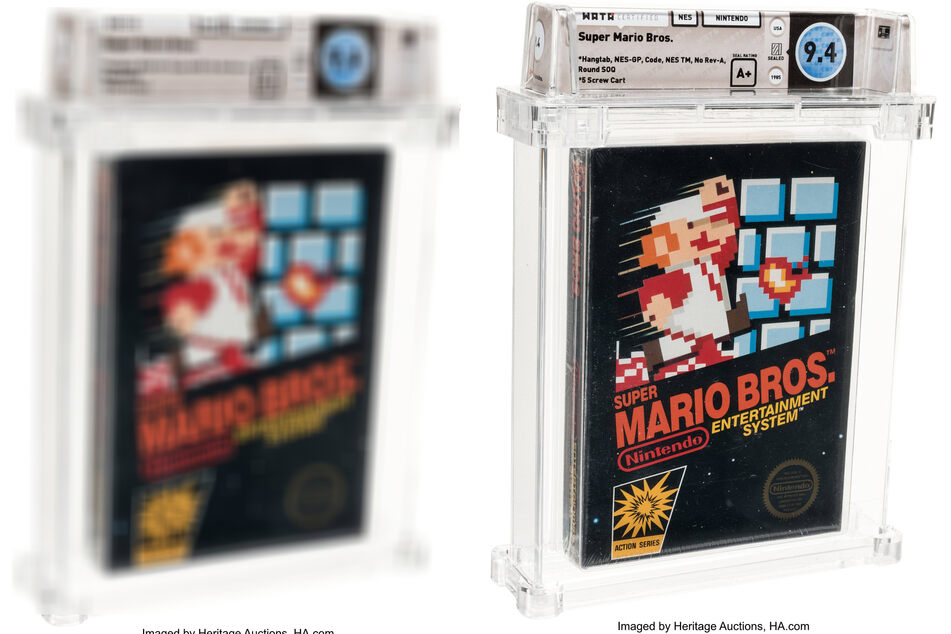 Hidden treasure: Super Mario game forgotten in drawer sells for world record fee!